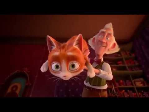 Кот и странный дом мультфильм
