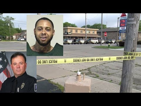 Charges filed against suspect in Racine officer's death