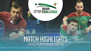 Саъди Исмаилов / Денис Ивонин vs Diogo Carvalho/Joao Geraldo | Portugal Open 2020 (1/4)