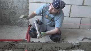 видео Расчет стяжки пола с керамзитом