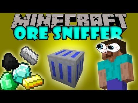ORE SNIFFER MOD - Busca Minerales mas facil - Minecraft mod 1.7.10 Review e instalacion ESPAÑOL