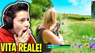 "FORTNITE in REAL LIFE! 😱 ""ASSURDO"""