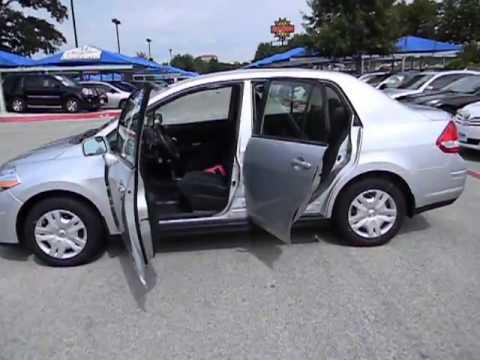 2011 Nissan Versa   Sedan San Antonio TX HA6250