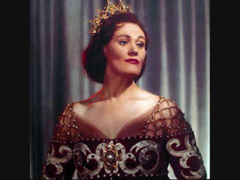 Dame Joan Sutherland. Les oiseaux dans la charmille. Les Contes d´Hoffmann. Offenbach.