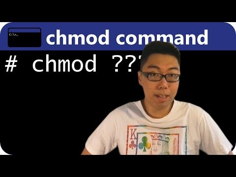 UNIX chmod Command