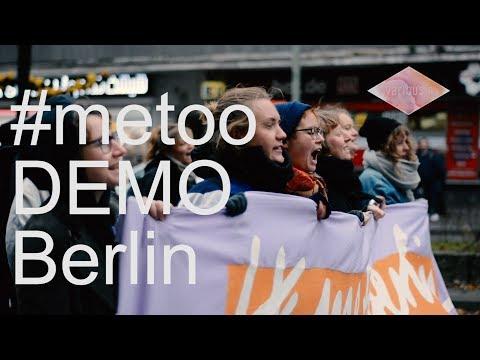 #metoo Demo Berlin 28.10.2017