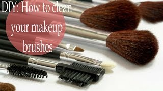 DIY: How to clean your makeup brushes | WithinLiesBeauty87 ♥ Thumbnail