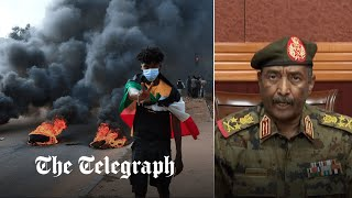 video: Sudan coup: Seven dead after soldiers fire on protesters as military chief dissolves the government