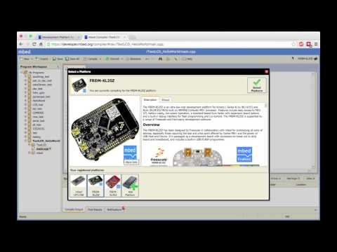 mBed Tutorial 1: Getting Started with mBed - YouTube