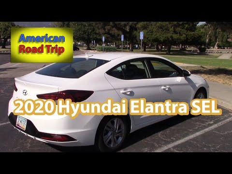 2020 Hyundai Elantra SEL Test Drive and Review - Road Trip Cars