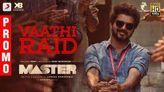 Master - Vaathi Raid Song Promo | Thalapathy Vijay | Anirudh Ravichander | Lokesh Kanagaraj