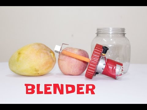How To Make Mini Hand Blender At Home