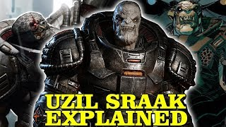 UZIL SRAAK EXPLAINED - HOW RAAM BECAME GENERAL OF THE LOCUST - GEARS OF WAR LORE AND HISTORY