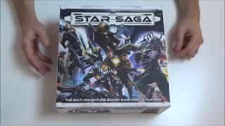 Star Saga Core Set Unboxing