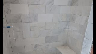 marble carrara tile bathroom part 3