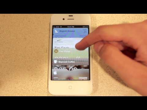 Passbook Application Demo: iOS 6 Beta 2