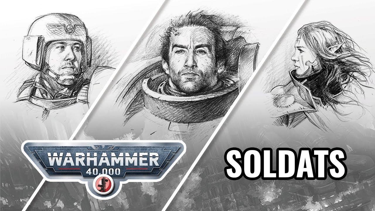 Saga Warhammer 40.000 - Episode 1 Soldats