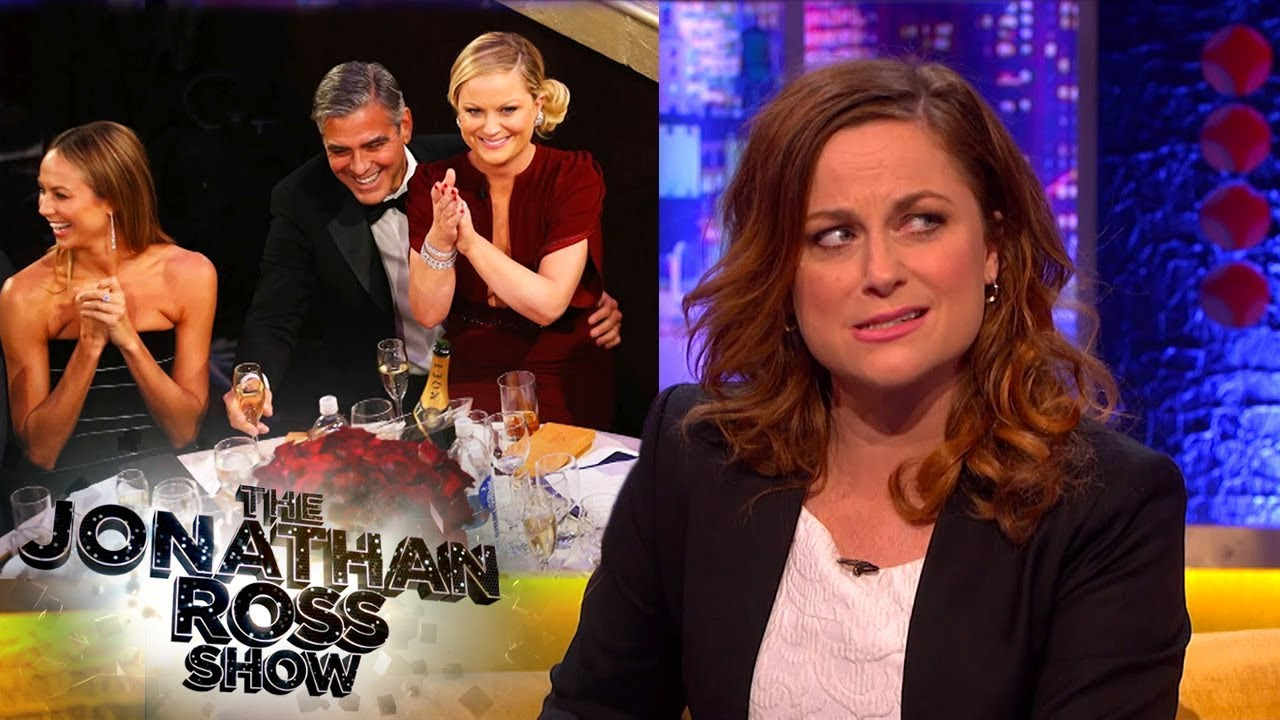 Download Amy Poehler Found Herself On George Clooney At An Awards Ceremony | The Jonathan Ross Show