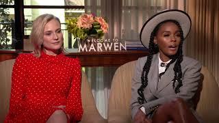 Welcome To Marwen || Diane Kruger & Janelle Monáe Generic Junket Interview || #SocialNews.XYZ