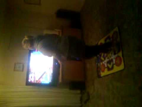 georgia and her dance mat skills ;)