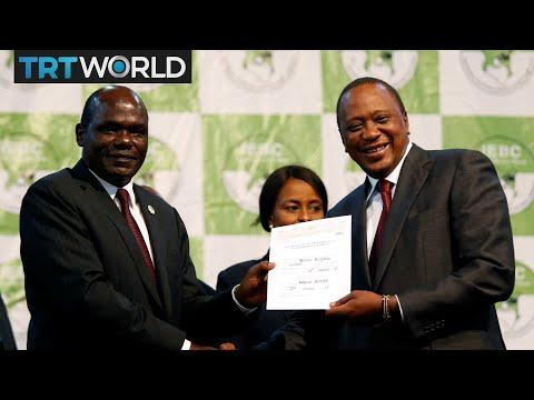 Kenya Elections: Uhuru Kenyatta wins presidential election