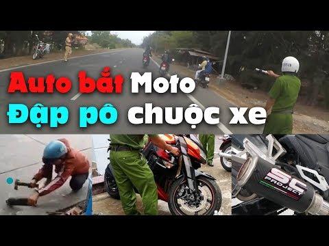 Đập pô để lấy xe - CSGT bắt Moto PKL & Xe độ pô ở Đà Lạt - Vũng Tàu - Đà Nẵng  | MinC Motovlog
