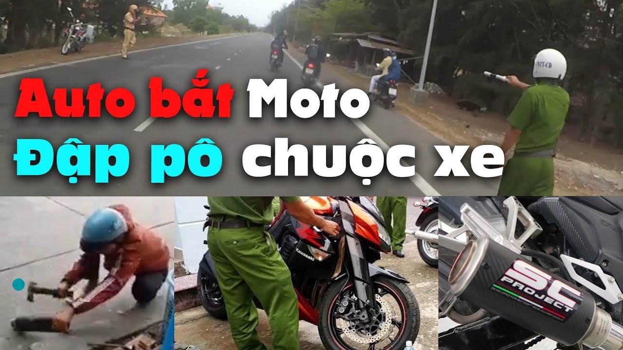 Đập pô để lấy xe – CSGT bắt Moto PKL & Xe độ pô ở Đà Lạt – Vũng Tàu – Đà Nẵng  | MinC Motovlog