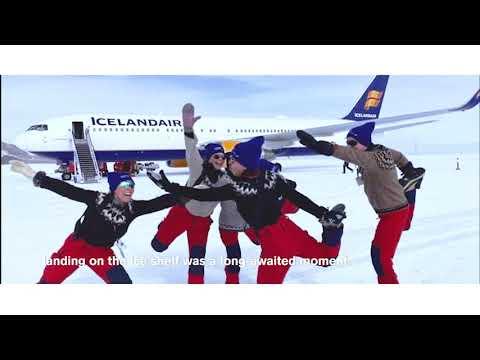 Icelandair flies to Antarctica: Boeing 767 lands at Troll airfield (QAT) | Icelandair