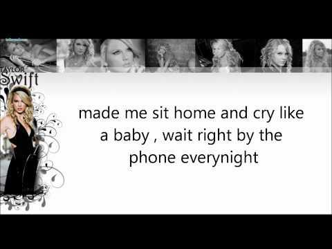 I Heart Question Mark-Taylor Swift- Lyrics- Studio Version -HD