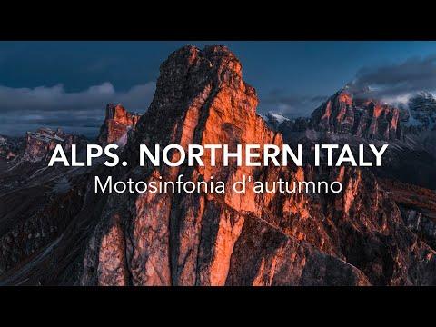 Motosinfonia d\'autumno. Alps, Northern Italy. Timelab & MV Agusta