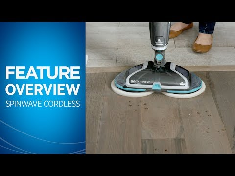 SpinWave® Cordless Hard Floor Spin Mop Feature Overview