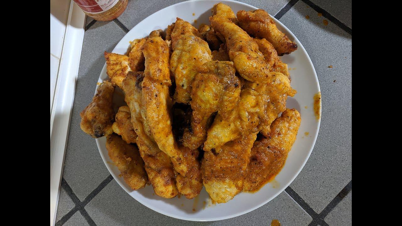 Nashville Hot Sauced Fried Chicken Recipe Nuwave Brio 14q Air Fryer Youtube