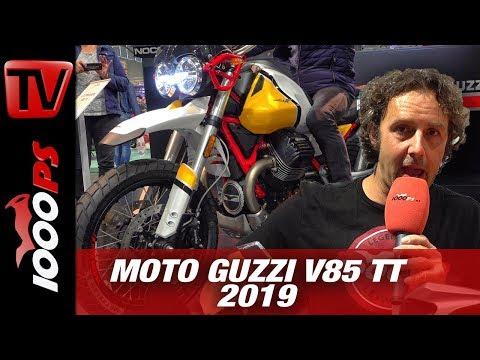 Reiseenduro Bereicherung - Moto Guzzi V85 TT auf der INTERMOT