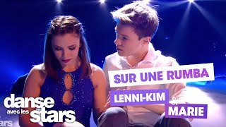 DALS S08 - Lenni-Kim et Marie Denigot pour une rumba sur