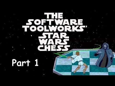 The Software Toolworks' Star Wars Chess | Mega CD (PAL) | Part 1, Rebel Gameplay
