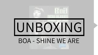 BoA - Shine We Are Album Unboxing
