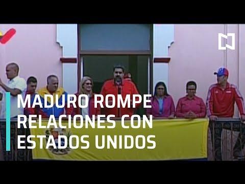 Venezuela rompe relaciones diplomáticas con Estados Unidos - En Punto con Denise Maerker