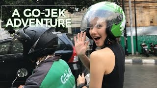 A GO-JEK Adventure - Food Delivery with Melissa