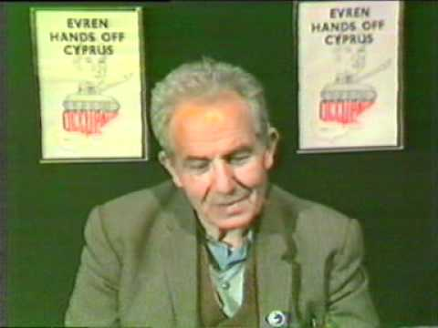 Theatro Technis interviews about General Evren's State Visit - 1988
