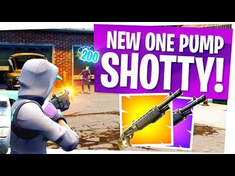 1 PUMPS RETURN with the NEW LEGENDARY PUMP SHOTGUN! - The NEW Fortnite SPAS 12