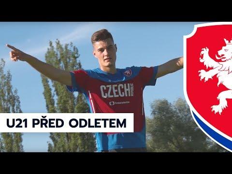 Trénink U21 před odletem do Polska