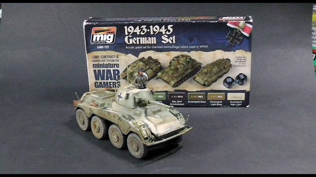 painting and weathering sd kfz 2342 puma from warlord games youtube - Painting Games 2