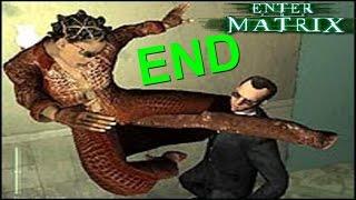 Enter The Matrix PS2 Gameplay #7 [RUN B*TCH RUN!!]