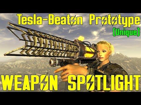 Fallout New Vegas: Weapon Spotlights: Tesla-Beaton Prototype