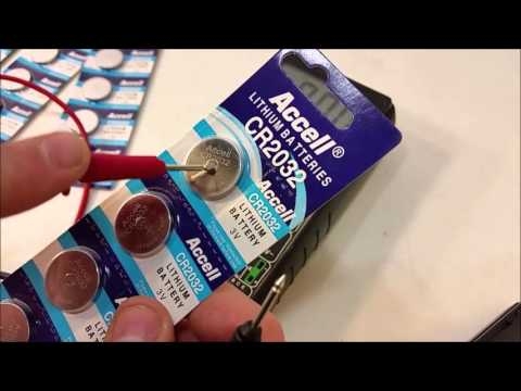 Accel CR2032 3V Lithium Batteries Review
