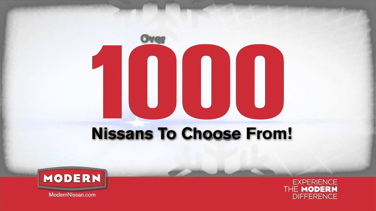 Modern Nissan Of Concord Holiday Sales Event November 2014