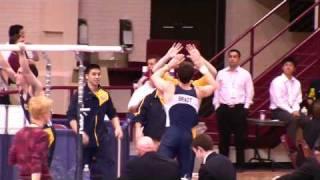 Kyle Brady - PB - 2009 NCAA Men's Gymnastics - pbars EF