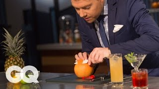 How to Garnish Your Drinks Like a Pro - GQ - America's Bartender
