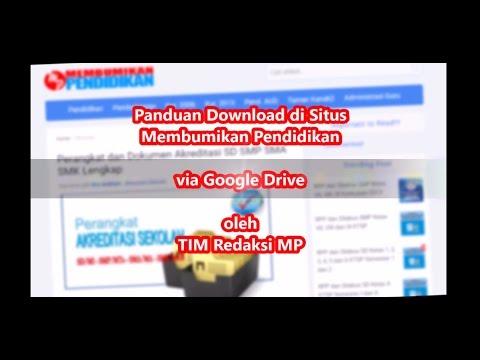 Panduan Download File Membumikan Pendidikan Via Google Drive