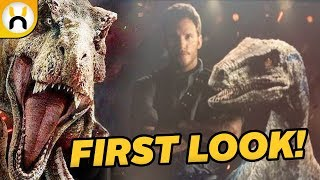 Jurassic World: Fallen Kingdom New Images & Trailer Rumors